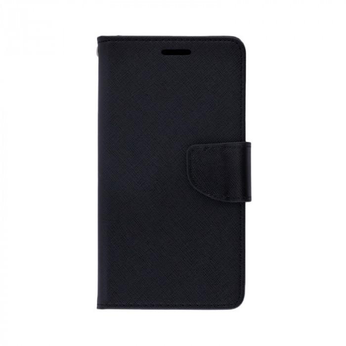 Husa SAMSUNG Galaxy S6 Edge - Fancy Book (Negru)