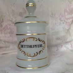 Bomboniera vintage sticla opalin