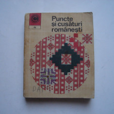 Puncte si cusaturi romanesti - Scinteianu Mihaela