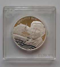 Moneda comemorativa de argint - 10 Euro 2014, Belgia foto