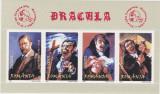 ROMANIA 2004 - DACULA - Bloc dantelat 4 valori  LP. 1640  MNH