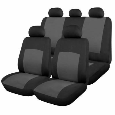 Huse scaune auto RoGroup Oxford, 9 bucati, universale, gri foto