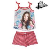 Pijama de Vară pentru Fete Flowers Soy Luna