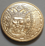 Monedă 50 de bani 2011, Mircea cel Bătrân necirculata in capsula