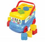 Jucarie de sortat forme Clementoni, autobuzul lui Mickey