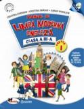 Limba moderna- engleza. Manual pentru clasa a III-a, partea I+partea a II-a (contine editie digitala), Aramis