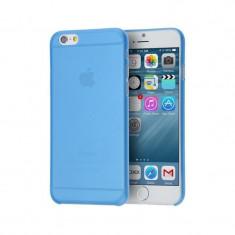 Husa APPLE iPhone 6 / 6S Plus - Ultra Slim (Albastru Transparent)