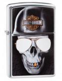 Cumpara ieftin Brichetă Zippo 29739 Harley Davidson-Skull & Sunglasses