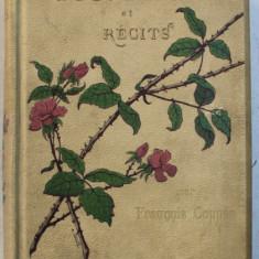 CONTES et RECITS en prose par FRANCOIS COPPEE , edition illustree de cent cinquante dessins de HENRI PILLE , graves par ALFRED PRUNAIRE , EDITIE IN