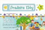 Romania, Gradinita Ebby, calendar de buzunar, 2011