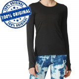 Bluza Adidas Supernova pentru femei - bluza originala - aerobic, M, S, XS, Negru, Poliester