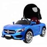 Masinuta electrica Roadster cu copertina, 3 trepte de viteza, albastru