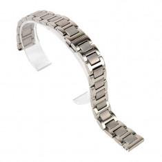 Bratara de ceas din otel inoxidabil Argintie - 20mm