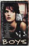 Caseta Boys (Original Motion Picture Soundtrack), originala, Casete audio