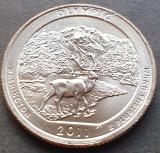 25 cents / quarter 2011 SUA, Washington, Olympic, litera D, America de Nord