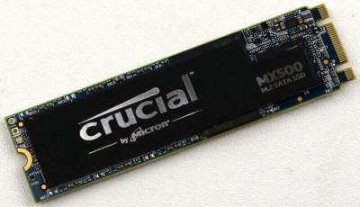 SSD M.2 500GB Crucial SATA-3, 6Gb/s, 100% HEALTH foto