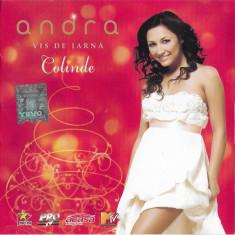 CD Andra – Vis De Iarnă – Colinde ,  original, holograma