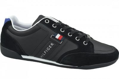 Pantofi sport Tommy Hilfiger Corporate Material Mix Cupsole FM0FM02398-990 pentru Barbati foto