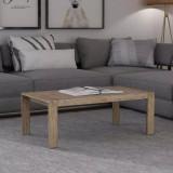 Măsuță cafea din lemn de salcâm șlefuit 110x60x40 cm