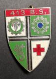 Insigna Militara Regimentala Batalionul 413 Servicii Franța Drago G1728