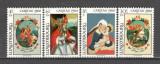 Luxemburg.1980 Caritas-Pictura pe sticla  SL.791, Nestampilat