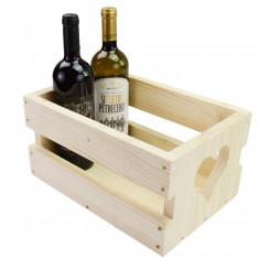 Cutie din lemn cu model