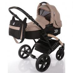 Carucior copii 2 in 1 cu landou Knorr Baby Volkswagen Polo Cappuccino