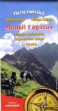 Fogarascher Berge / Muntii Fagaras - Wanderkarte / Harta turistica 1 : 75 000