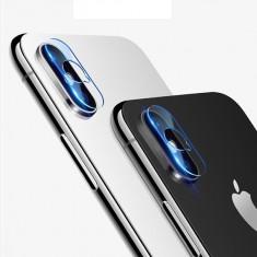 Folie pentru camera, Apple iPhone XS Max, Sticla, Transparent