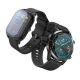 Folie de protectie silicon Shield UP HiTech Regenerable pentru Smartwatch Samsung Galaxy Watch Active