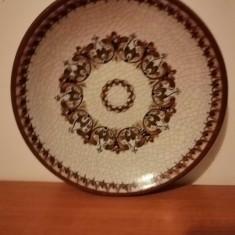 Farfurie ceramica de perete Handarbeit aus Gmunden Austria 21 cm