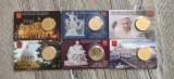 6 monede comemorative Vatican 50 eurocenti coin card, Europa
