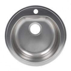 Chiuveta bucatarie Alveus Form 30, rotunda, diametru 51 cm, inox