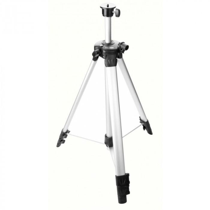 Trepied pentru nivela laser Tolsen, 1425 mm, aluminiu