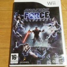 WII Star Wars The force unleashed original PAL / by Wadder