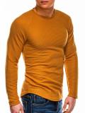 Cumpara ieftin Bluza slim fit barbati B1021-galben, XXL