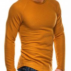 Bluza slim fit barbati B1021-galben