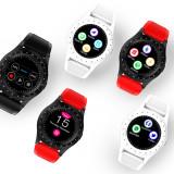 Smartwatch L9 Plus cu telefon si camera 3G,rosu si alb, GARANTIE 12 LUNI, Otel inoxidabil