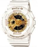 Ceas Sport Dama Casio G-SHOCK BABY-G White&Gold ALB (Copil) CALITATE PESTE PRET, Plastic, Cauciuc