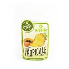 Amestec de Fructe Tropicale 100gr Vitally Cod: 6426877010791