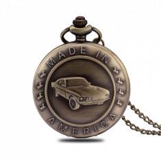 Ceas de buzunar Pava, model Retro Vintage