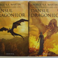DANSUL DRAGONILOR de GEORGE MARTIN , VOL I - II , 2017