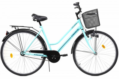 Bicicleta Dama Kreativ 2812 505mm Turcoaz 28 foto