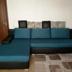 Canapea extensibila de tip coltar
