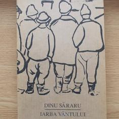 DINU SARARU- IARBA VANTULUI, cartonata/supracoperta, r4a