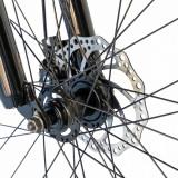 Bicicleta de munte Velors 2410A 24 frana disc 21 viteze griargintiu