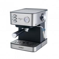 Espressor cafea Samus, 850 W, presiune 20 bari, rezervor 1600 ml, Argintiu