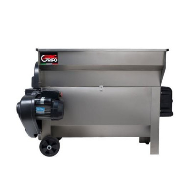 Desciorchinator cu zdrobitor cu motor si pompa, Grifo DVEP20i, 2000kg/h, 1.5 kW, Inox Mania Tools foto