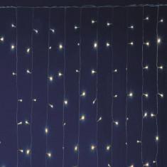 Perdea luminoasa 600 LED-uri, 2x3 m, lumina statica, IP44 interior/exterior