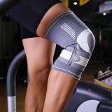 Orteza de genunchi elastica fabricata din material textil Mania